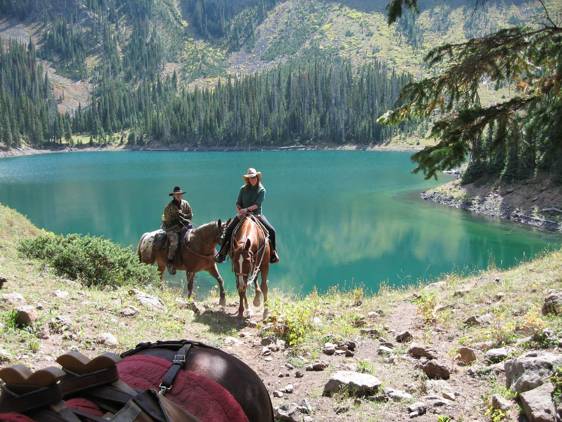 Horseback riding at Welder Ranch