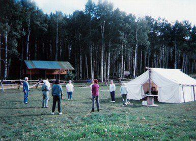 Welder Ranch Wall Tent