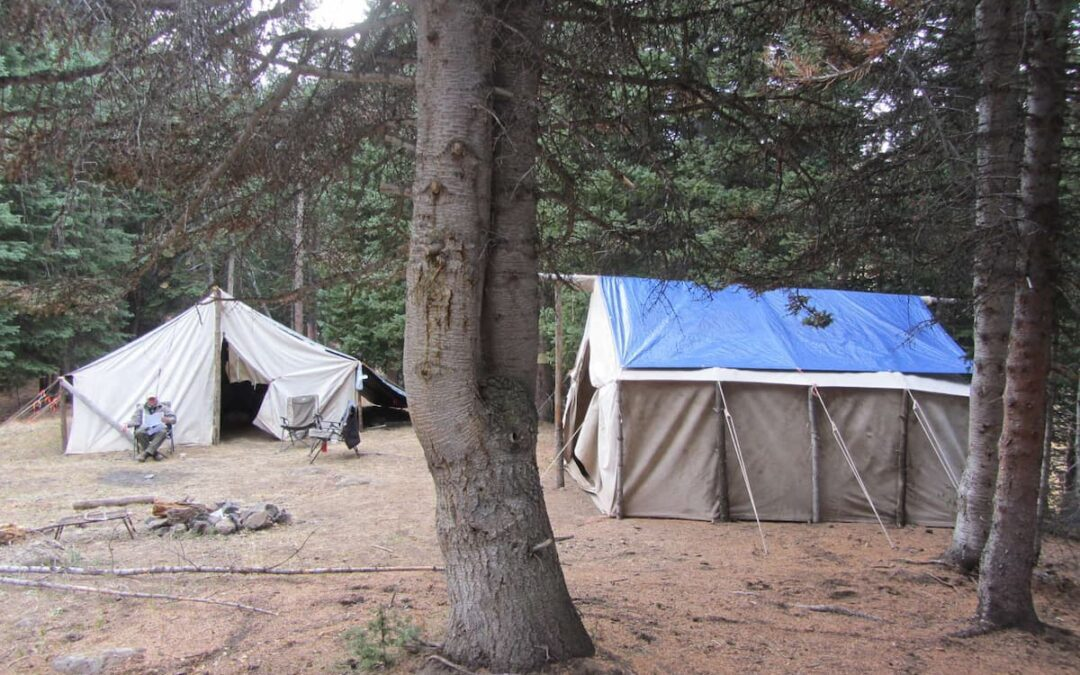 Camping at Welder Ranch and in the White River National Forest in the Meeker area.