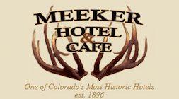 Meeker Hotel & Cafe Logo