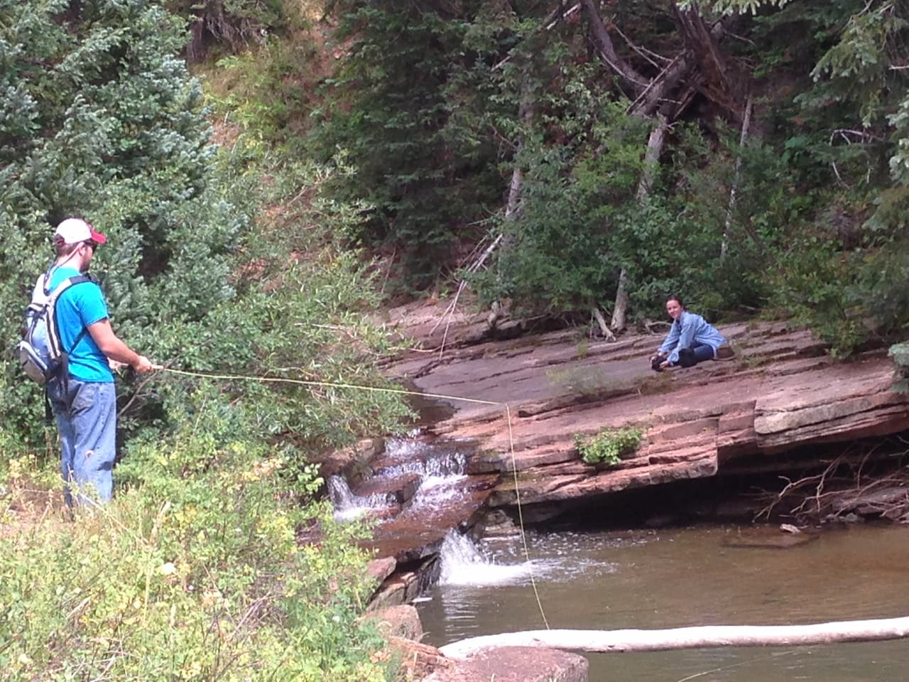 Guided Fly Fishing in Lost Creek