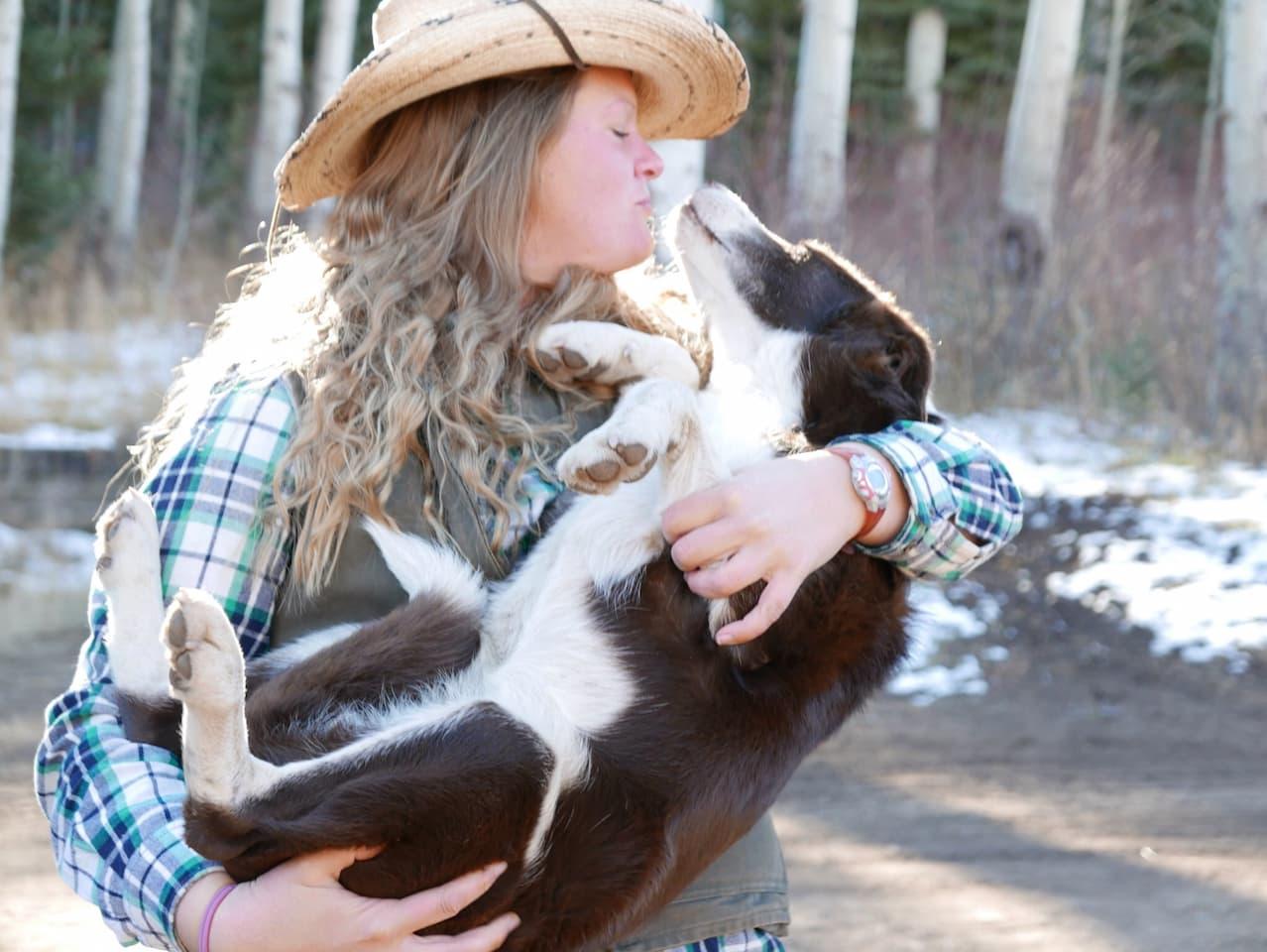 Meghan with Kamir at Welder Ranch